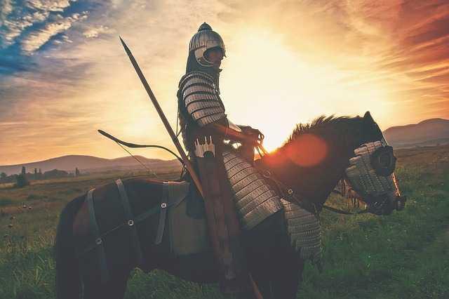 Воин на лошади